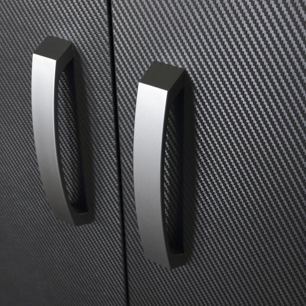 7pc Deluxe Cabinet Storage Set - Black/Graphite Carbon