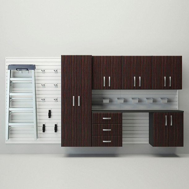 7pc Deluxe Cabinet Storage Set - Espresso