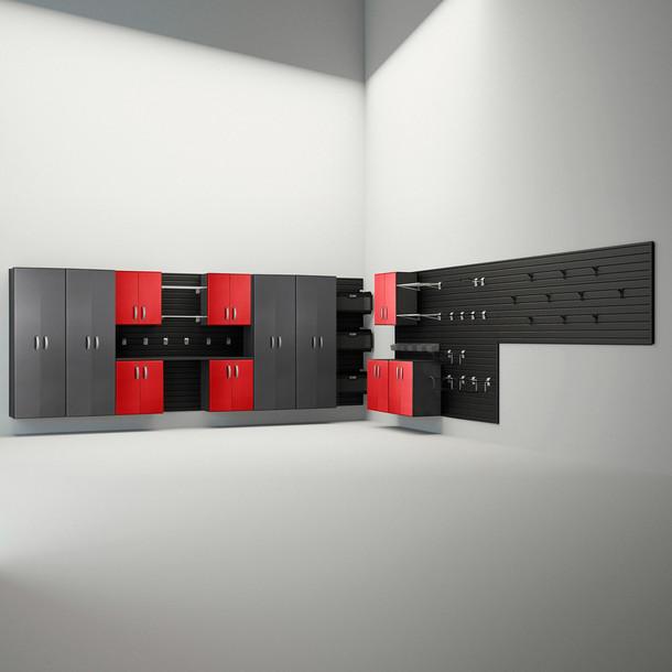 12pc Dream Garage - Red & Graphite