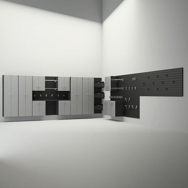 12pc Dream Garage - Black/Silver