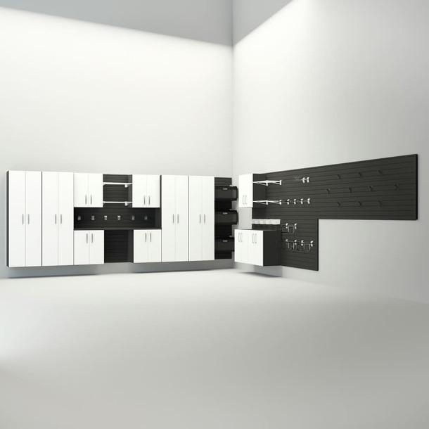 17pc Dream Garage - Black/White