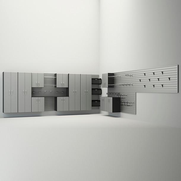 12pc Dream Garage - Silver