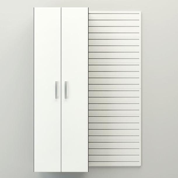 17pc Dream Garage - White