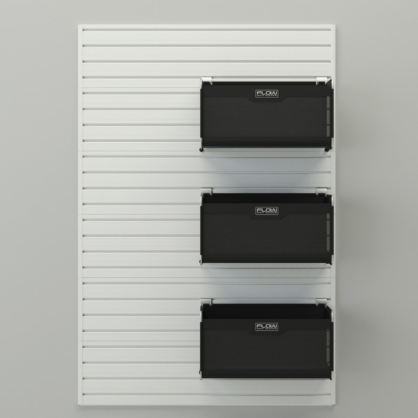 12pc Dream Garage - White/Silver