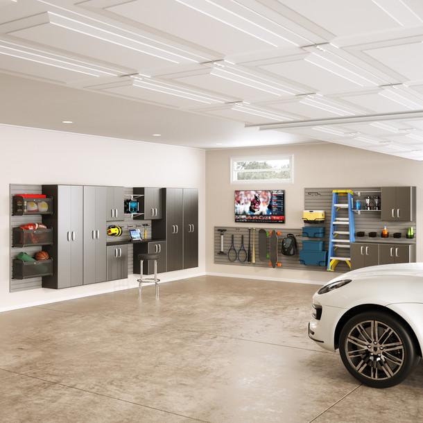 12pc Dream Garage - White/Graphite Carbon