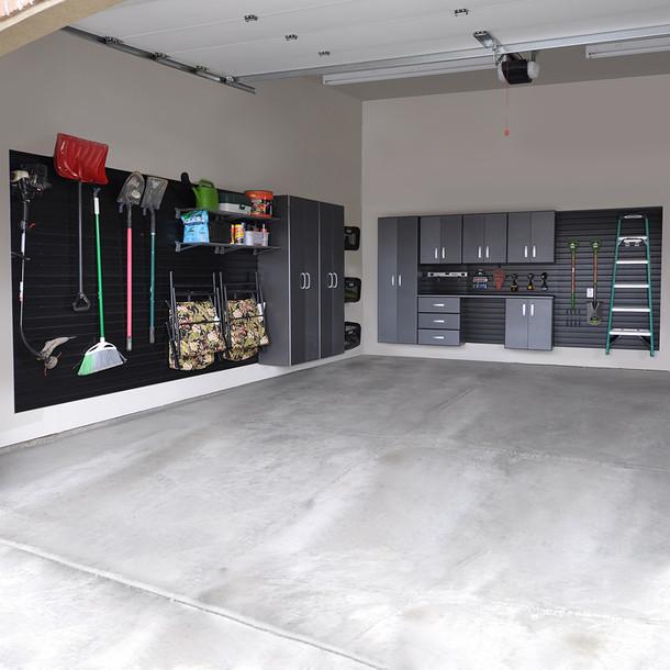 9pc Jumbo Cabinet Storage Set - Black/Graphite Carbon