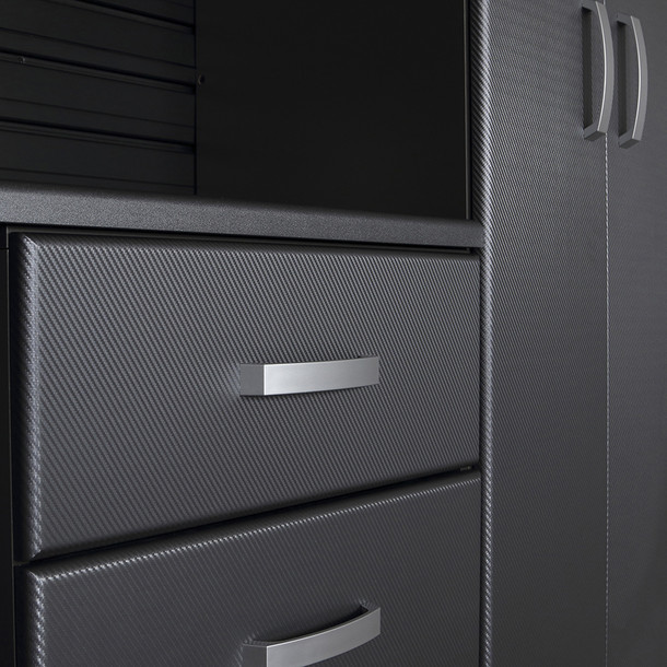 9pc Jumbo Cabinet Storage Set - Black/Graphite Carbon