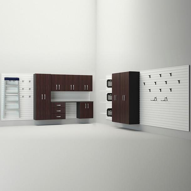 12pc Deluxe Cabinet Set - Espresso