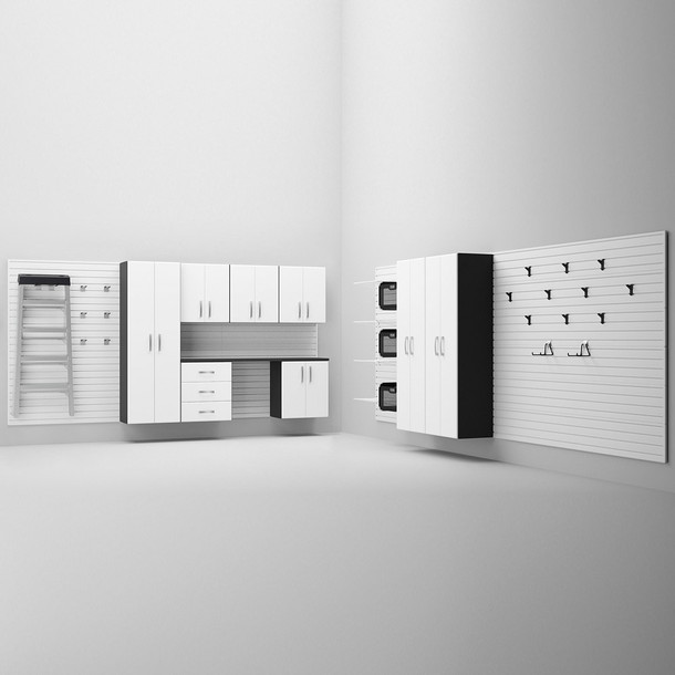 13pc Deluxe Cabinet Set - White