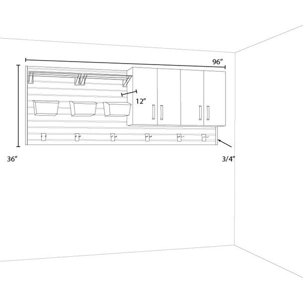 2pc Craft Set - White