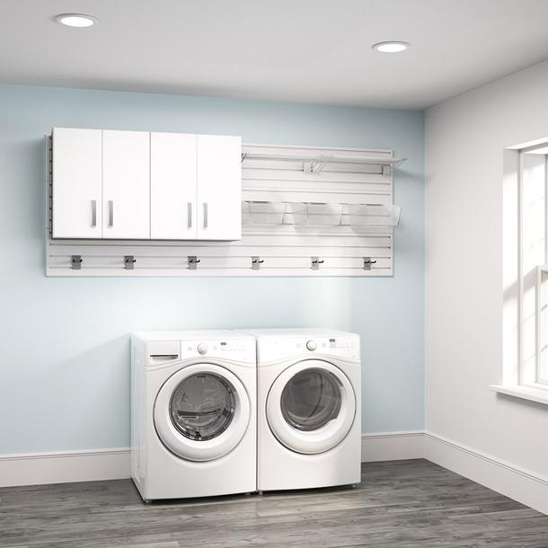 2pc Laundry Set - White