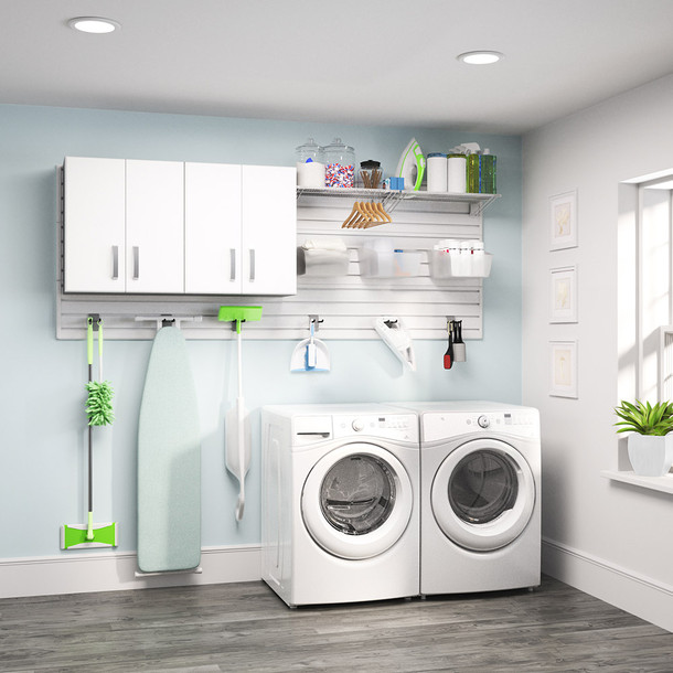 2pc Laundry Set - White