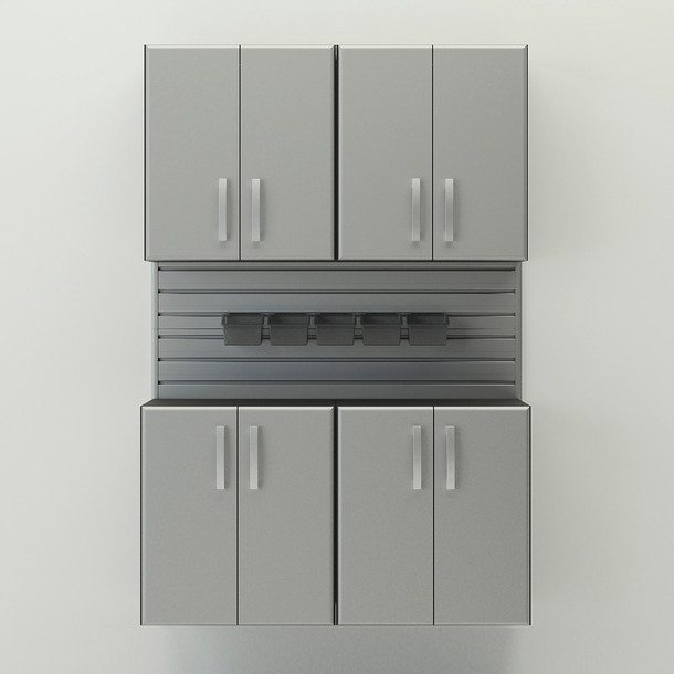 5pc Cabinet Set - Silver