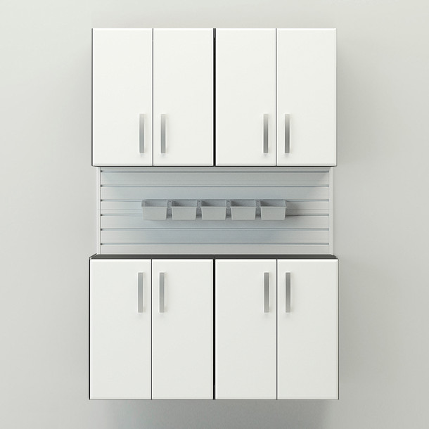5pc Cabinet Set - White