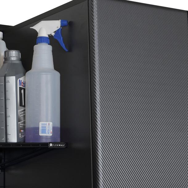 5pc Deluxe Garage Workstation - Black/Graphite Carbon