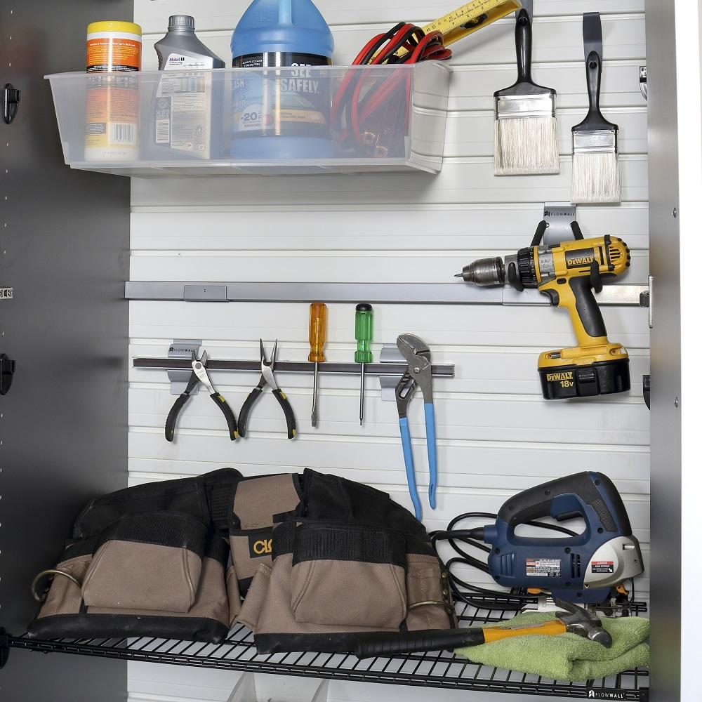 4pc jumbo cabinet storage center carbon