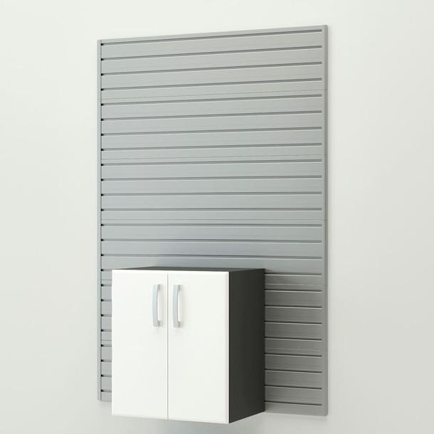 7pc Jumbo Starter Workstation - Silver/White