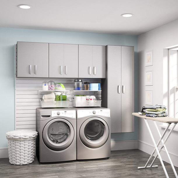 4pc Laundry Set - Platinum