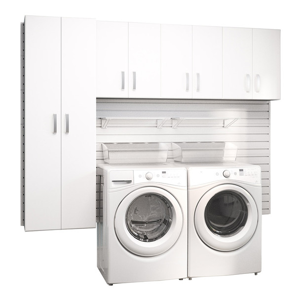 4pc Laundry Set - White