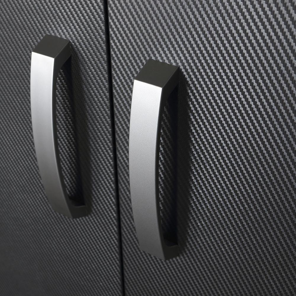 5pc complete storage cabinet set carbon