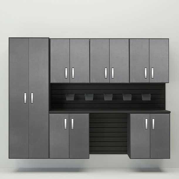 7pc Cabinet Set - Black/Graphite Carbon