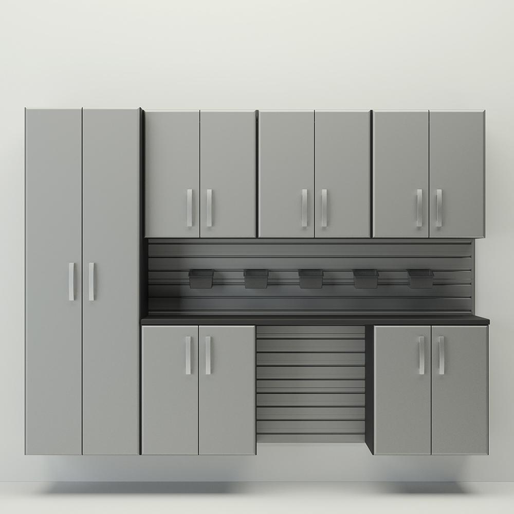 7pc Cabinet Storage Set   Silver