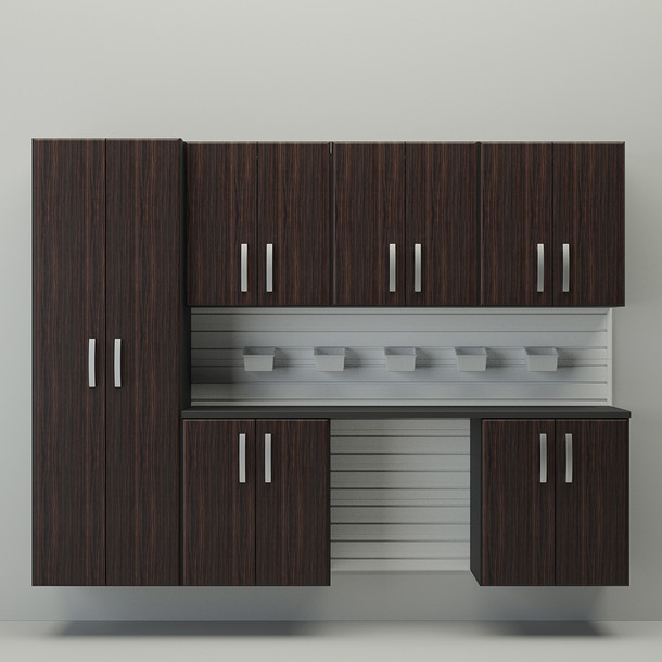 7pc Cabinet Storage Set - Espresso