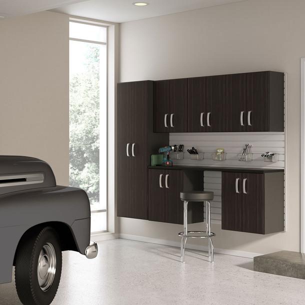 7pc Cabinet Storage Set - Espresso