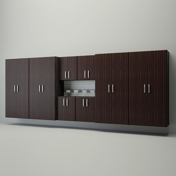 10pc Jumbo Deluxe Cabinet Set - Espresso