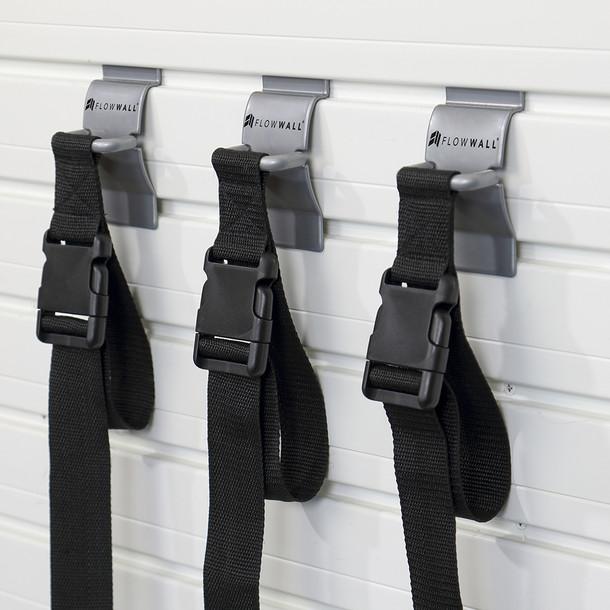 Nylon Strap Hook 3pk