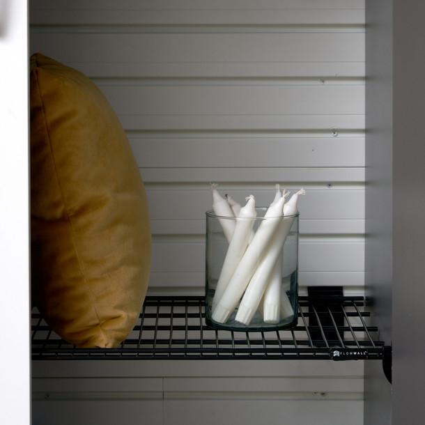 Jumbo Metal Bracket Shelf 2pk