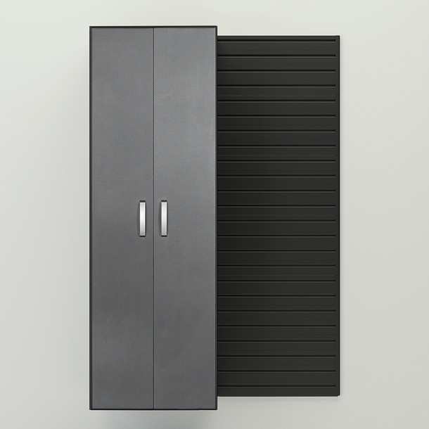 Tall Cabinet - Graphite Carbon