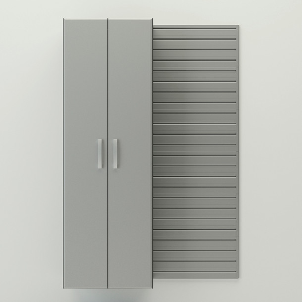 Tall Cabinet - Silver