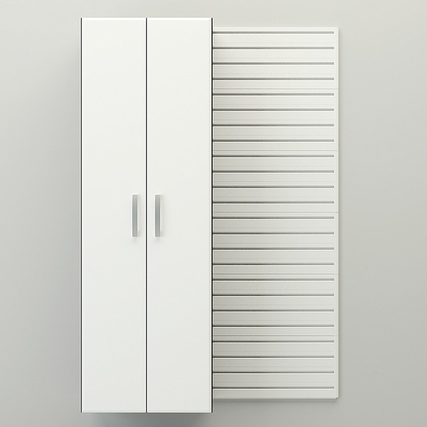 Tall Cabinet - White