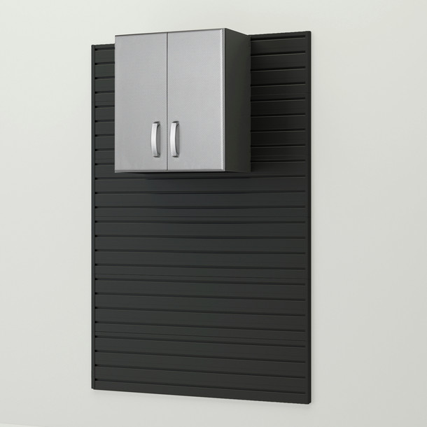 Wall Cabinet - Platinum Carbon