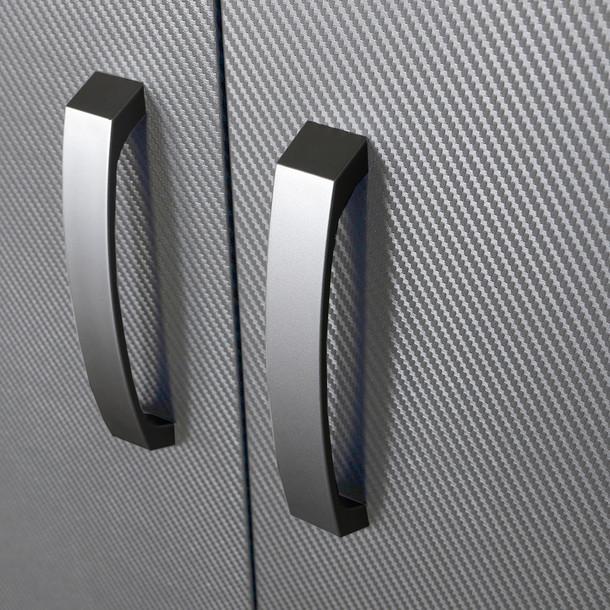 Wall Cabinet - Platinum Carbon