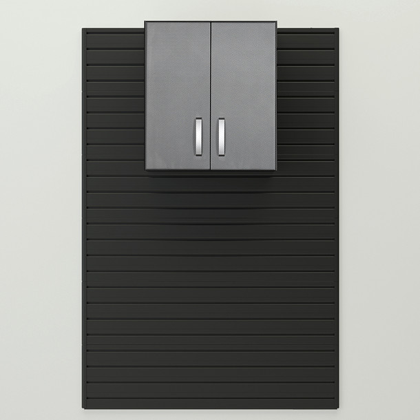 Flow Wall® Wall Cabinet - Graphite Carbon Fiber