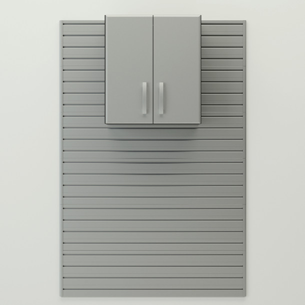 Wall Cabinet - Silver
