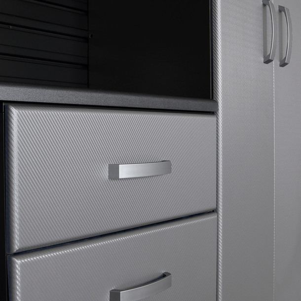 Base Cabinet - Platinum Carbon