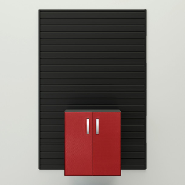 Base Cabinet - Red Carbon