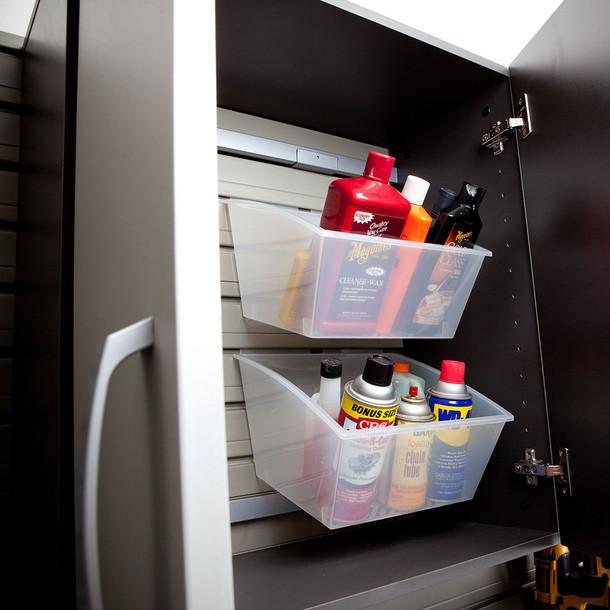 Flow Wall® Base Cabinet - Graphite Carbon Fiber