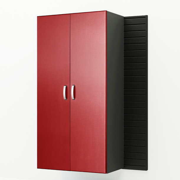Jumbo Cabinet - Red Carbon