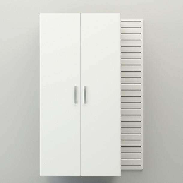 Jumbo Cabinet - White