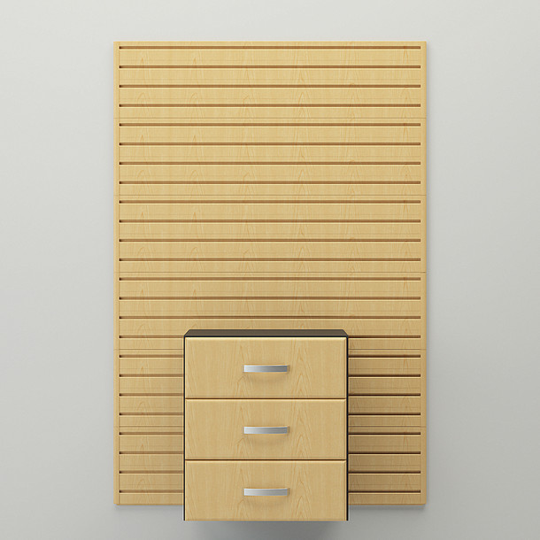 Drawer Cabinet - Maple