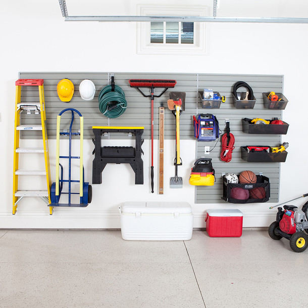 Garage and Hardware Storage System - Silver