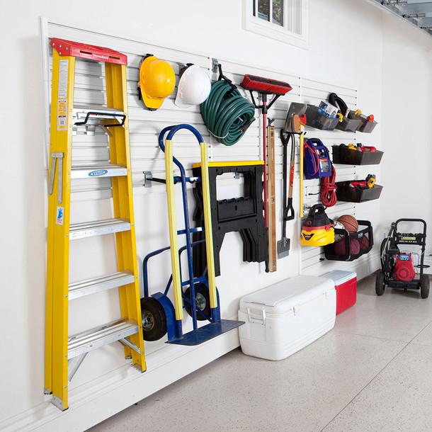 Garage and Hardware Storage System - White