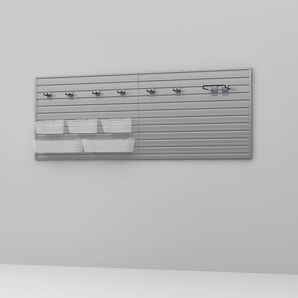 11 Pc Basic Bin and Ladder Storage Storage Set