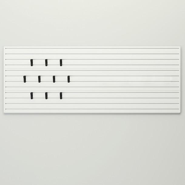 X Hook and Panel Starter Set - White