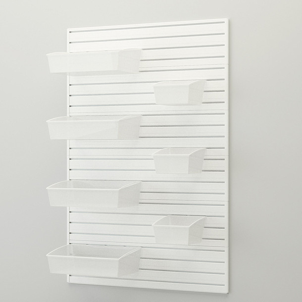 Hard Bin Starter Set - White