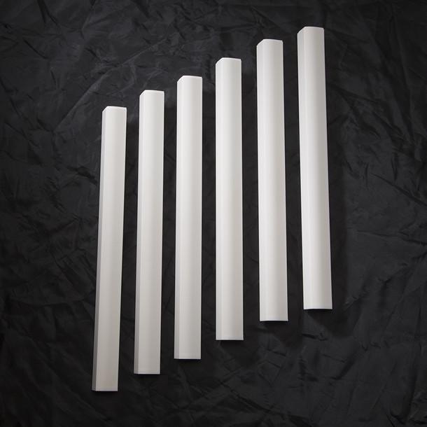 Finish Strips 6pk - White